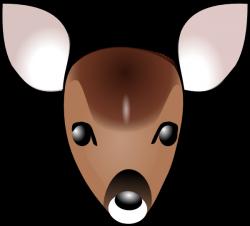 Deer Head Clip Art at Clker.com - vector clip art online, royalty ...