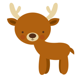 Floresta e Safari 3 - deer.png - Minus | clipart | Pinterest | Clip art