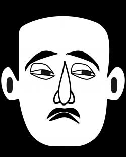 Clipart - Sad Face (Emotions)