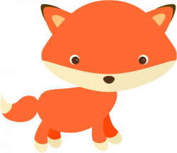 Cute fox free clipart | vectores, png, cliparts... | Pinterest ...