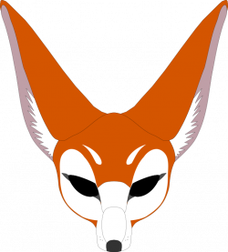 Clipart - Fox mask