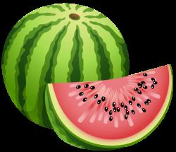 Large Painted Watermelon PNG Clipart | Fruit | Pinterest | Clip art ...