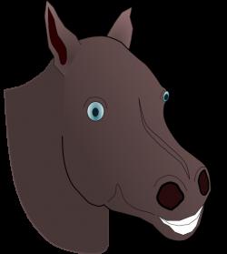 Horse Head Clip Art at Clker.com - vector clip art online, royalty ...