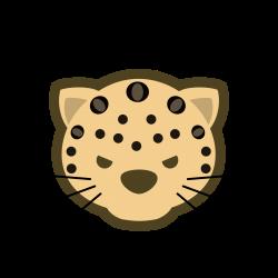 Leopard Clipart face - Free Clipart on Dumielauxepices.net