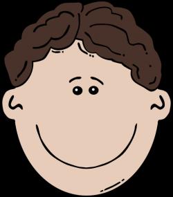 Boy Face Cartoon 3 Clip Art at Clker.com - vector clip art online ...