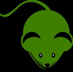 Cute Green Mouse Cartoon Clip Art at Clker.com - vector clip art ...