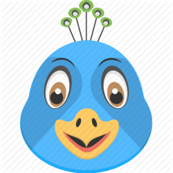 Peacock Icon #220646 - Free Icons Library
