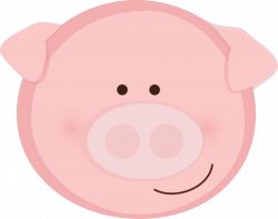 28+ Collection of Pig Clipart Face | High quality, free cliparts ...