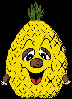 Clipart - pineapple head