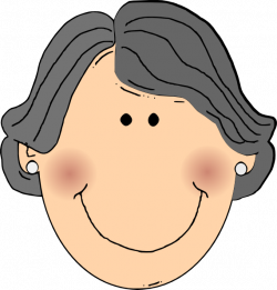 Face clipart grandmother ~ Frames ~ Illustrations ~ HD images ...