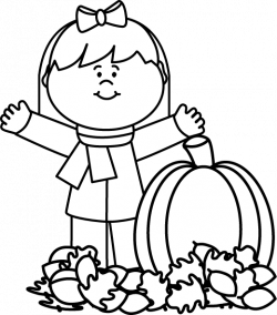 Black and White Autumn Girl | PRESCHOOL | Pinterest | Autumn girl ...