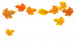 Fall Leaves Blowing Clipart