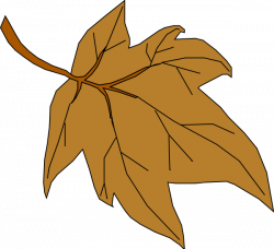 Fall Leaf Clip Art at Clker.com - vector clip art online, royalty ...