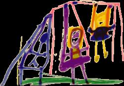 Clipart - Kindergarten Art Swing