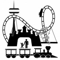 Theme Park Silhouette at GetDrawings.com   Free for personal use ...