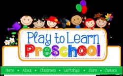Center Time In Preschool Clipart