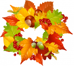 28+ Collection of Fall Wreath Clipart Free | High quality, free ...