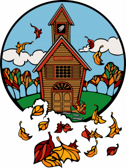 Clipart - school in fall abiclipar 01