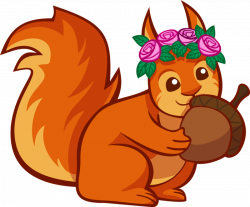 NEW 65+ Squirrel Clipart Images Free Download 【2018】