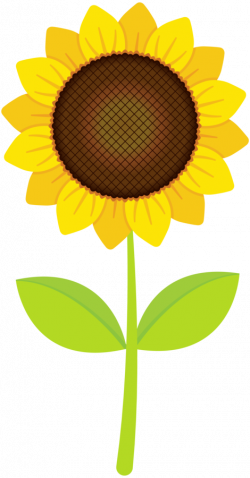 Sunshine clipart happy sunflower - Pencil and in color sunshine ...