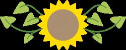 Purple Sunflower Clipart | jokingart.com Sunflower Clipart