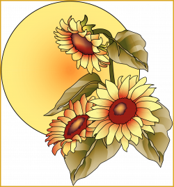 Incredible Top Fall Clip Art Clipart Image Pic Of Sunflower Png ...