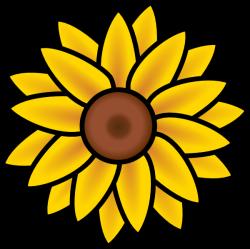 Sunflower Clip Art at Clker.com - vector clip art online, royalty ...