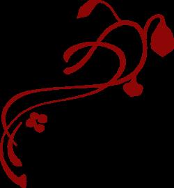 Burgundy Swirl Clip Art at Clker.com - vector clip art online ...