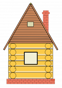 Clipart - Russian wood house
