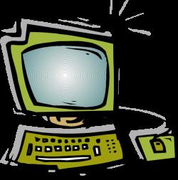 Green Computer Clip Art at Clker.com - vector clip art online ...