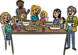 Family Dinner Clipart at GetDrawings.com | Free for personal use ...