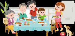 Dinner Clip art - Family dinner 2224*1087 transprent Png Free ...