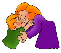 Family and Friends Clip Art by Phillip Martin, Hug