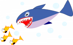28+ Collection of Shark Eating Fish Clipart | High quality, free ...