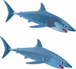 Blue Shark Clip Art at Clker.com - vector clip art online, royalty ...