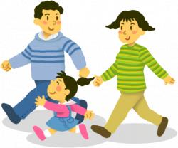 family-walking-clipart-1 | Oakland Presbyterian Church
