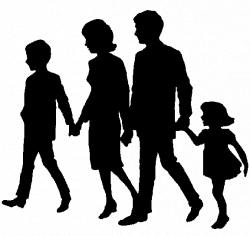 Free Family Walking Cliparts, Download Free Clip Art, Free Clip Art ...