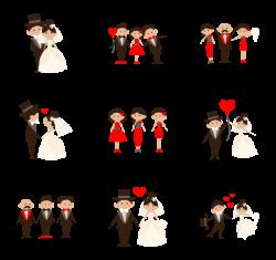 Wedding Icons - 3,756 free vector icons