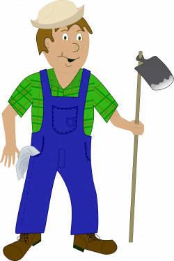 Clipart - Farmer