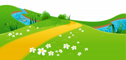 Meadow and River Ground PNG Clipart | Places to Visit | Pinterest ...