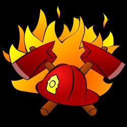 Clipart - firefight
