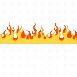 Fire clipart border 8 » Clipart Station
