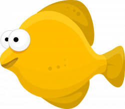 Revealing Cartoon Pic Of Fish Clipart #13001