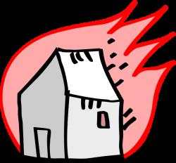 Burning House Clip Art at Clker.com - vector clip art online ...