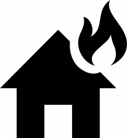 House Fire Svg Png Icon Free Download (#425828) - OnlineWebFonts.COM