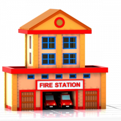 28+ Collection of Fire Station Clipart Png | High quality, free ...
