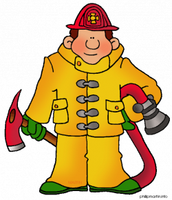 firefighter%20clipart%20black%20and%20white | Fireman Printables ...