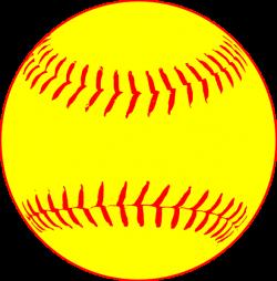 Yellow Softball Clip Art at Clker.com - vector clip art online ...
