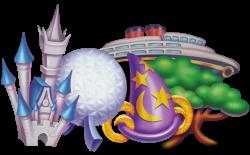 disney world parks logo - Google Search | Disney | Pinterest | Walt ...