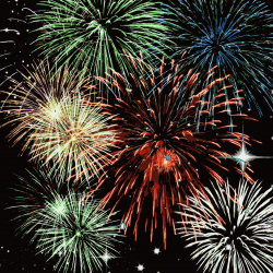 Clipart - Fireworks